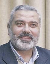 Лидер политического крыла ХАМАСа Исмаил Ханийе