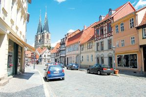 Кведлинбург – заповедник фахверков