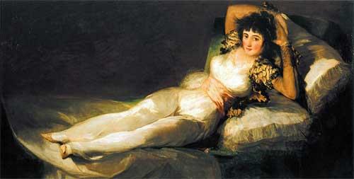 Маха одетая. 1800—1803 гг. Музей Прадо, Мадрид