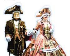 Венеция в карнавальной маске