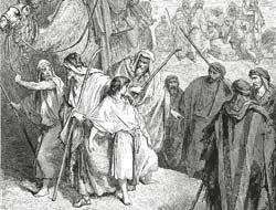 Густав Доре. Иллюстрация к Библии. Фрагмент