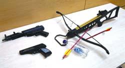 Оружие несостоявшегося 17-летнего террориста из Кёльна