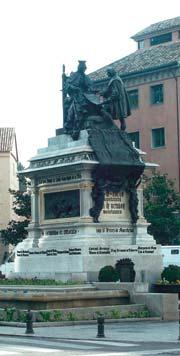 Памятник Христофору Колумбу и королеве Исабель