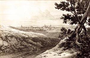 Данциг(Гданьск). Гравюра.1844г.