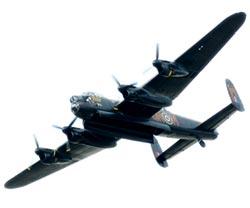 Avro Lancaster- британский бомбардировщик времен Второй мировой войны, состоявший на вооружении Королевских ВВС