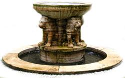 Львиный фонтан.