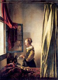 Ян Вермеер Дельфтский 1632-1675 гг. Приблизительно 1657 г. Холст, масло. 83x64 см. Дрезден, Картинная галерея