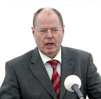 Министр финансов ФРГ Пеер Штайнбрюк