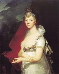 Елизавета Алеексеевна. Портрет Ж.-Л Монье,  1807