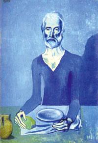 Пикассо: Аскет (1903)