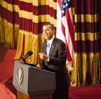 Обама в Каирском университете