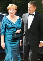 Ангела Меркель и Йоахим Зауэр