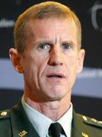 Командующий силами НАТО в Афганистане генерал Стэнли Маккристал