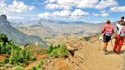 В горах Гран-Канария