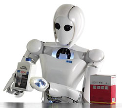 Робот АILA, созданный в DFKI