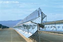 Солнечная установка в Калифорнии