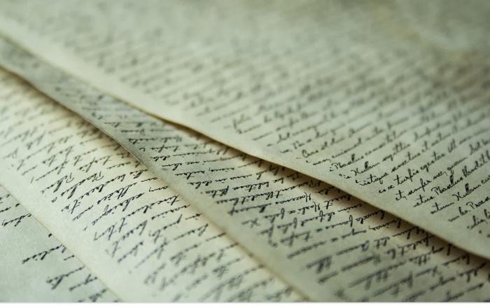 старинные письма