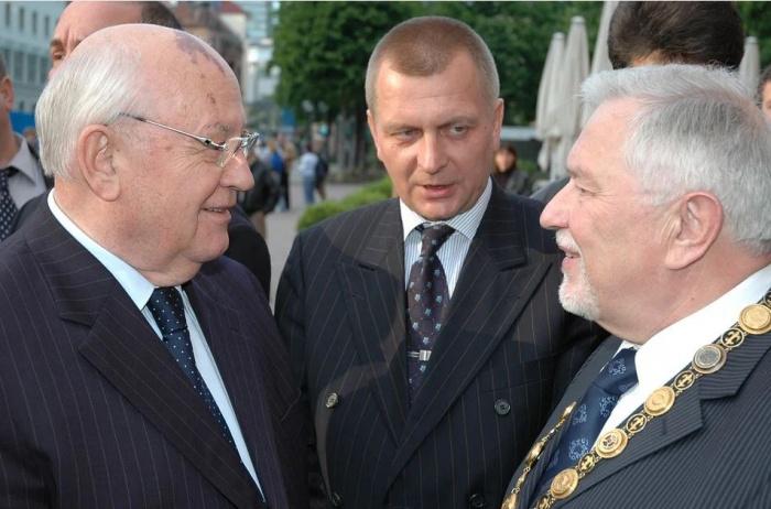 Горбачев в Висбадене