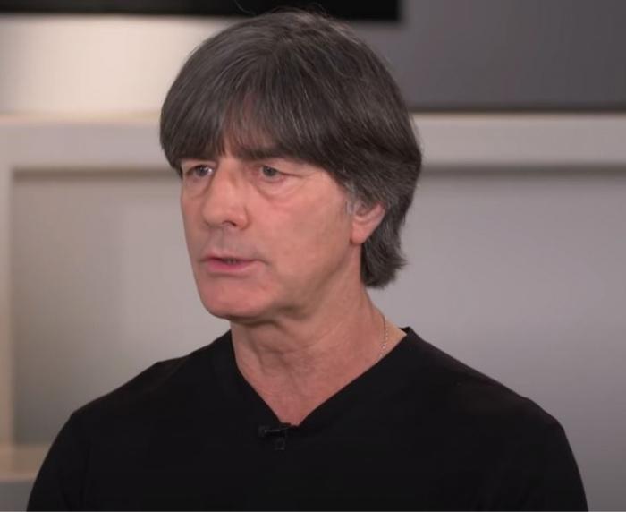 тренер сборной Германии Йоахим Лёв
