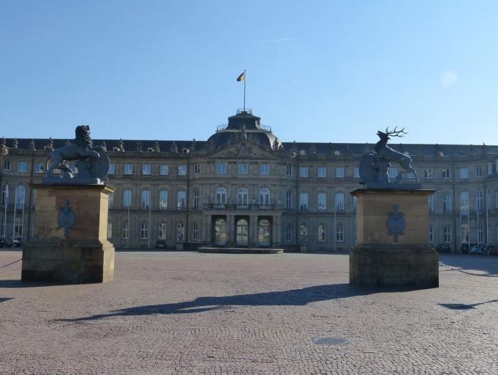 замок в Штутгарте