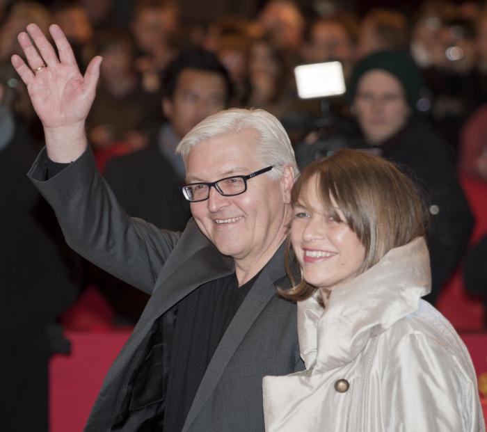 Штайнмайер и его жена