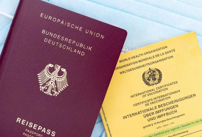 загранпаспорт и паспорт вакцинации
