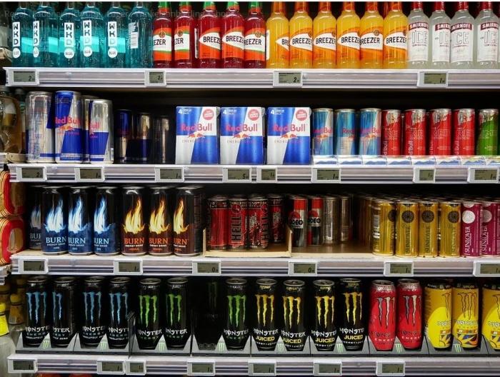 напитки в магазинах Германии