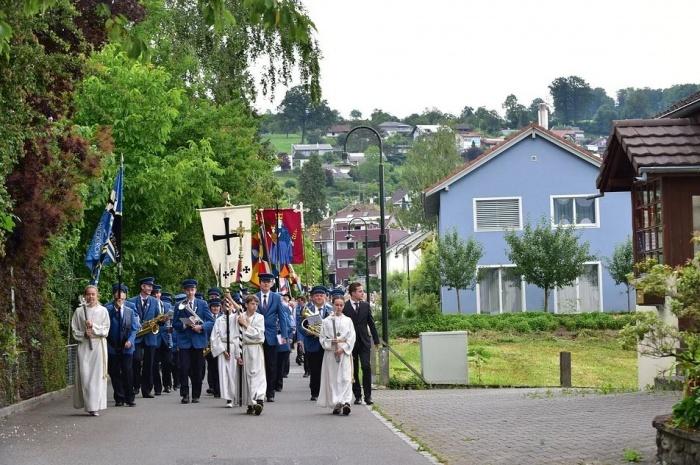 праздник Fronleichnam в Германии