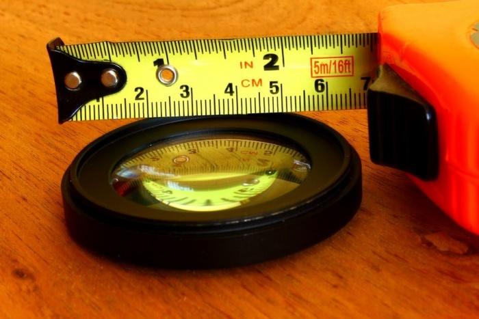 рулетка для измерений
