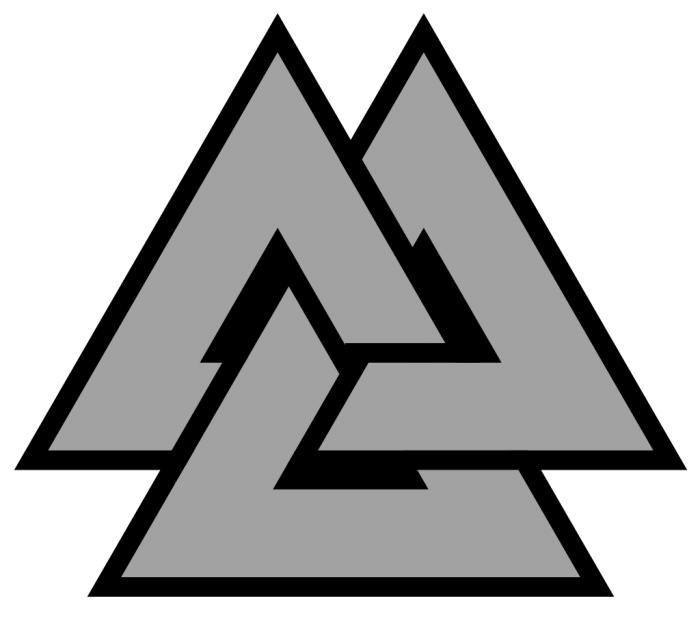 три переплетенных треугольника