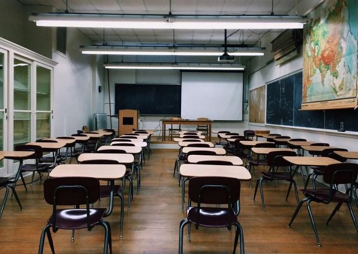пустая школьная комната