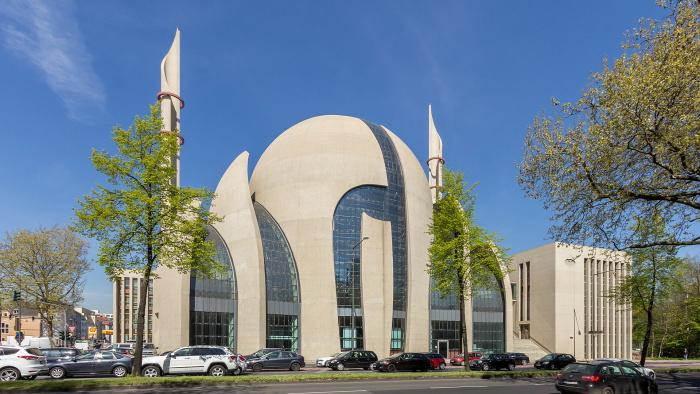 главная мечеть Кёльна