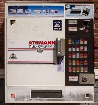сигаретный автомат