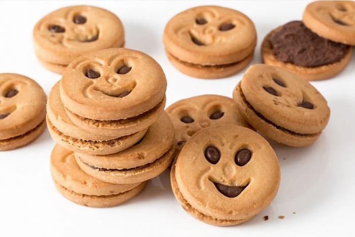 печенье в виде смайлика